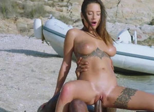 Young plowed by a diving tutor