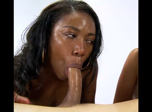 Ebony bi-atch does not have time to..