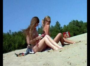 2 nude teenages entice an occasional..