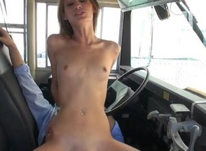 Damsel superslut seduced and boned by..